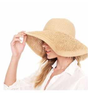 Textured Summer Hat